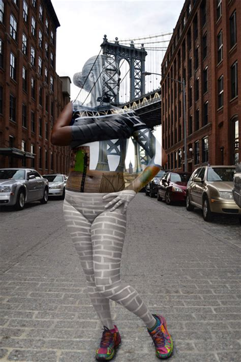 Urban Camo: Body Paint Blends Humans into City Backdrops