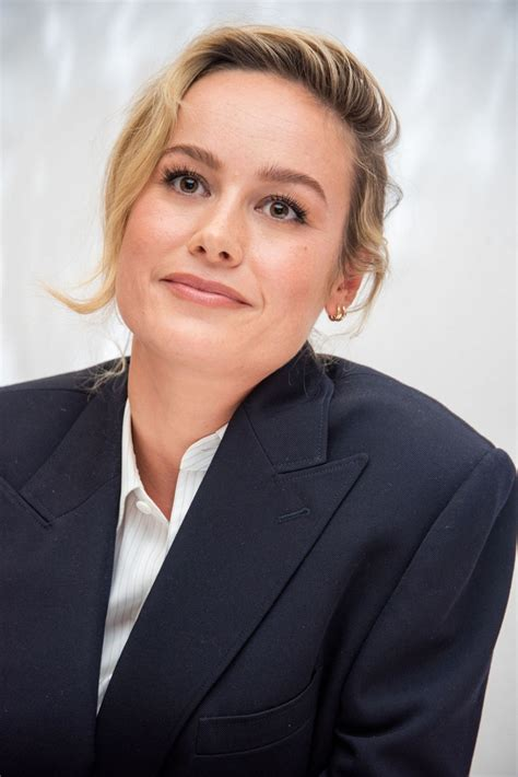 Brie Larson attends 'Just Mercy' Press Conference During