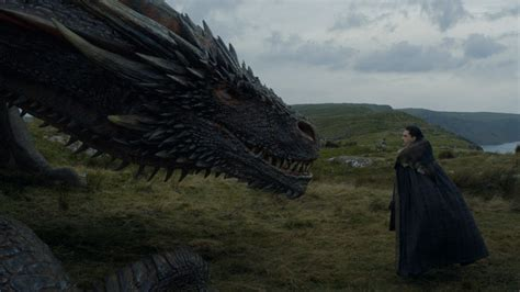 """Jon Snow casually pet a dragon on """"Game of Thrones,"""" and"""