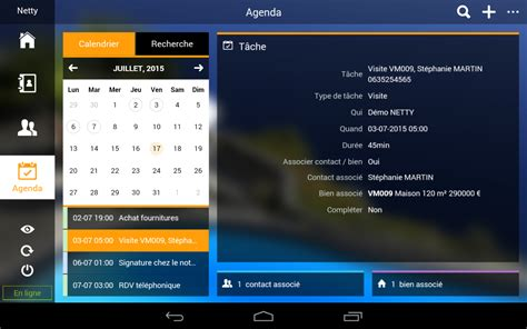 Netty logiciel immobilier – Applications Android sur