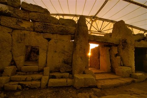 Watch the Winter solstice at Mnajdra Temples in Malta