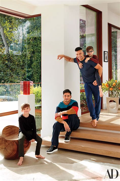 Ricky Martin Takes AD Inside His Blissful Beverly Hills