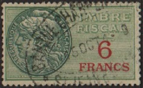 Catalogue France Fiscal stamps