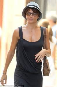 Helena Christensen is unrecognisable without her make-up