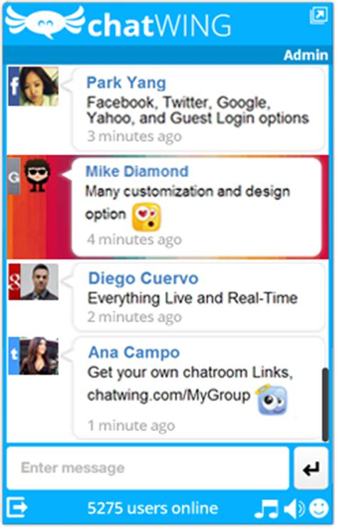 Chat Box with Premium Advantages Launched by Chatwing in