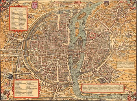 Old Maps of Paris 360-1615 | Earthly Mission
