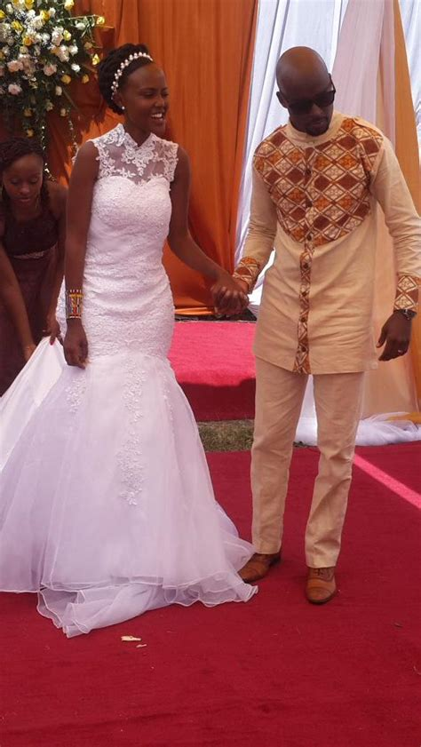 In case you missed, Here are Mark Masai's Wedding PHOTOS