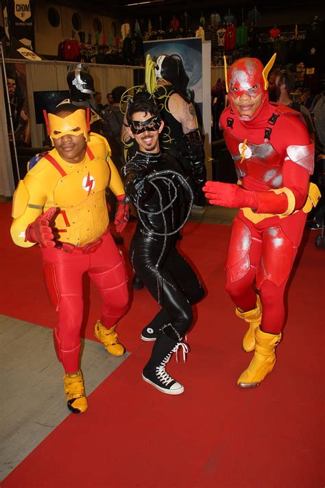 File:Montreal Comiccon 2015 - Reverse-Flash, Catwoman and