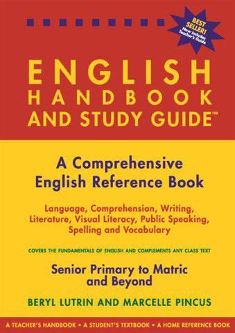 The English Handbook And Study Guide | Buy Online in South