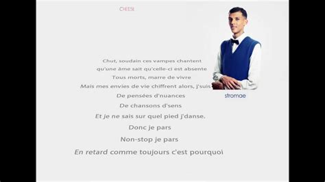 Je cours - Stromae - Cheese (Paroles) - YouTube