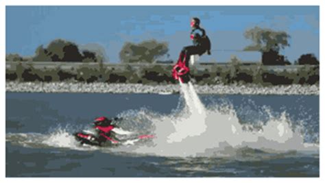 Flyboarding -- who knew? (quite a cool video)