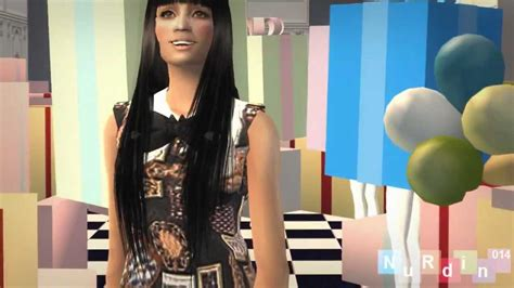 Lily Allen - The Fear *Sims 2* *Copyright fix* - YouTube
