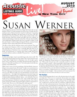 Susan Werner Oh, Yes, I Can be New by Richard Cuccaro I