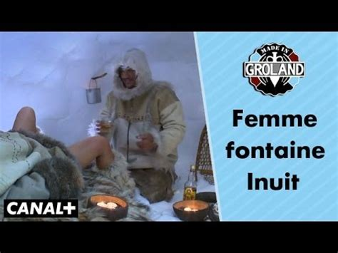 Femme fontaine inuit - Made in Groland - YouTube