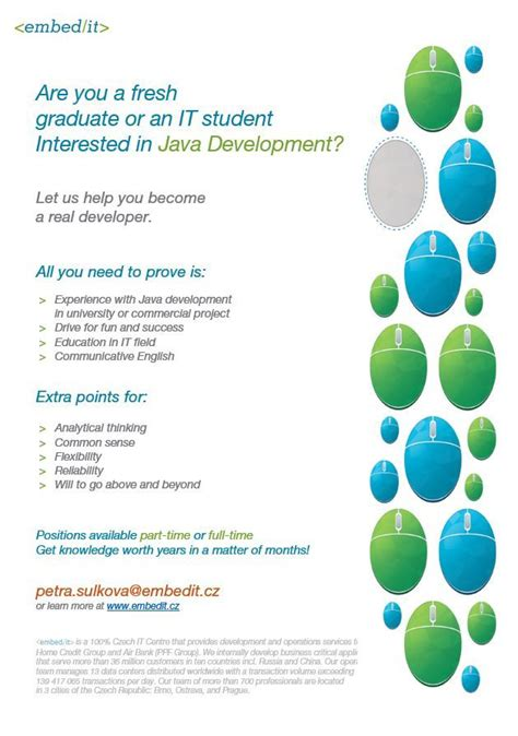 EmbedIT Blog - Java Junior positions open! Apply directly
