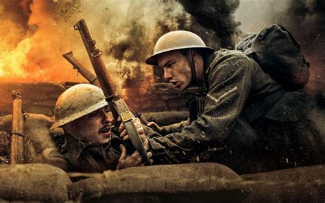 Trailer for British WWII action film Behind the Line